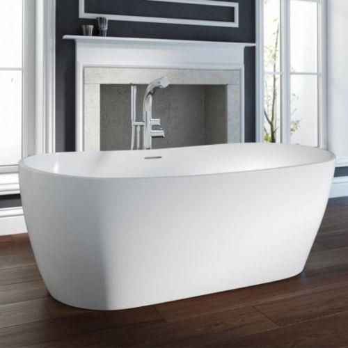 Ramsden & Mosley Hellisay 1800mm Double Ended Freestanding Bath  (14945)