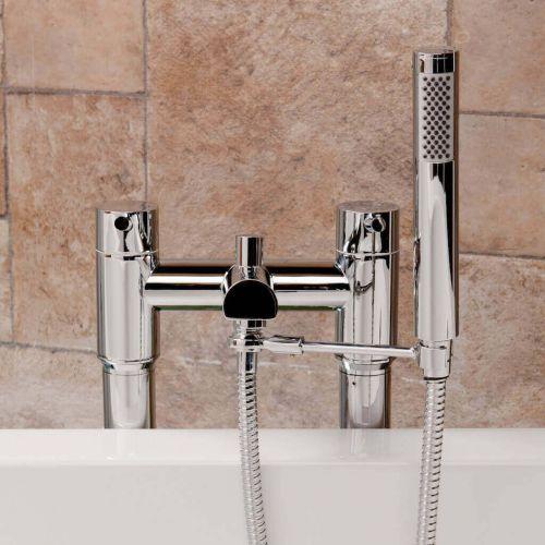 Round Shower Handset Arm & Hose (9266)