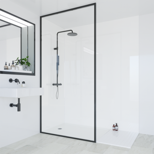 Multipanel Classic Collection Natural White 1200mm Shower Panel (9566)