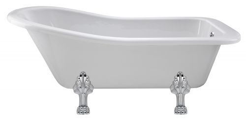 Hudson Reed Brockley 1700mm Free Standing Bath & Pride Legset RL1690C2  (15164)