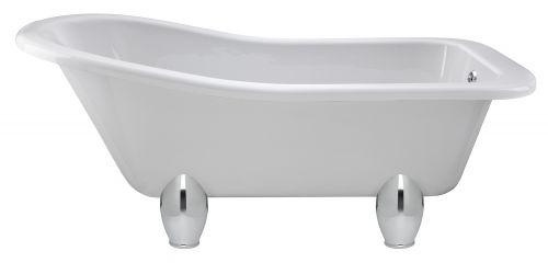 Hudson Reed Brockley 1500mm Free Standing Bath & Deacon Legset RL1490M1  (15162)