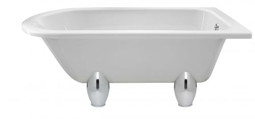 Hudson Reed Winterburn 1500mm Free Standing Bath & Deacon Legset RLF1500M1  (16119)