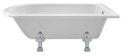 Hudson Reed Winterburn 1700mm Free Standing Bath & Pride Legset RLF1700C2  (16121)