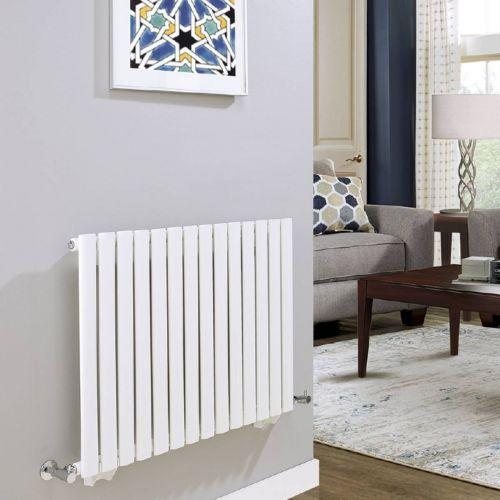 Revival 600 x 1190mm Single Panel Horizontal Designer Radiator - White (21027)