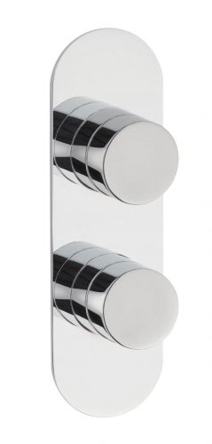 Hudson Reed Indus Twin Thermostatic Shower Valve RND3210 (15510)