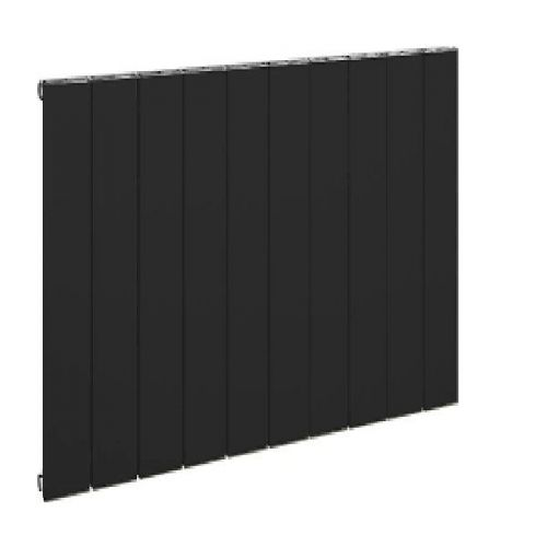 Horizontal Black Radiator