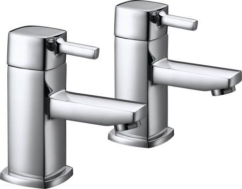 Eliseo Ricci Ruby Bath Pillar Taps - 10539