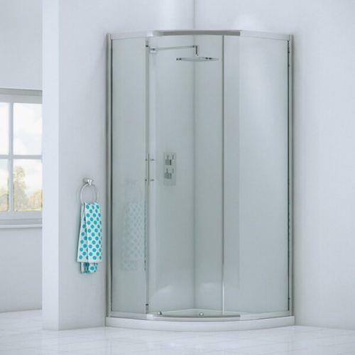 Kiimat Six² 900mm Single Door Quadrant Shower Enclosure (19269)
