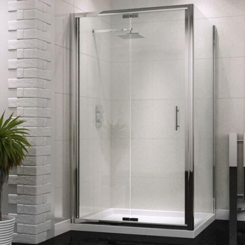 Kiimat Six² 900mm Semi Frameless Bi-Fold Shower Door (19281)