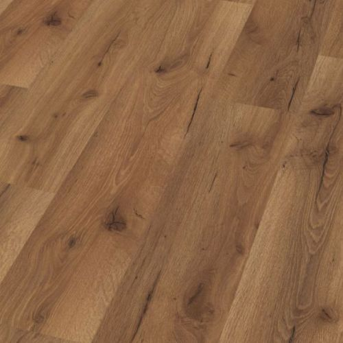 Oak Robust Fumed Senior 12mm Laminate Wooden Flooring - 1.43sqm per pack - 14047