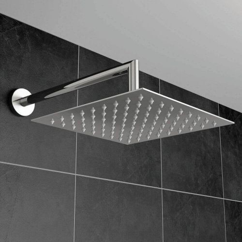 Stainless Steel Square Fixed Head 400mm (14491)
