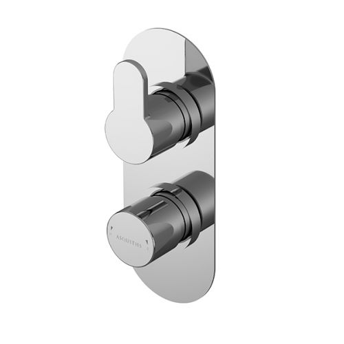 Asquiths Sanctity Twin Concealed Shower Valve With Diverter (17653)