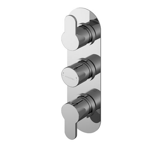 Asquiths Sanctity Triple Concealed Shower Valve (17654)