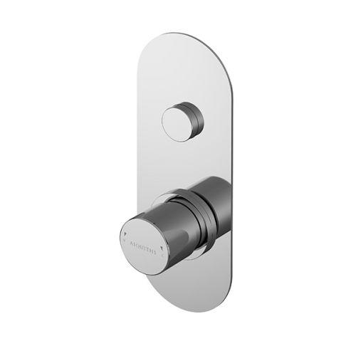 Asquiths Solitude Push Button Shower Valve Single Outlet (17682)