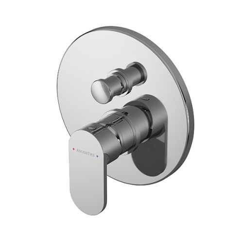 Asquiths Solitude Manual Concealed Shower Valve With Diverter (17687)