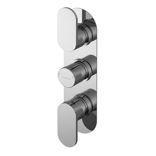 Asquiths Solitude Triple Concealed Shower Valve (17690)