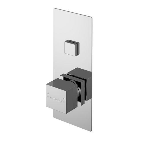 Asquiths Revival Push Button Shower Valve Single Outlet (17609)