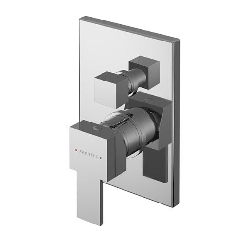 Asquiths Revival Manual Concealed Shower Valve With Diverter (17614)