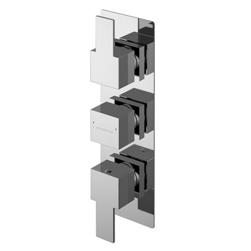 Asquiths Revival Triple Concealed Shower Valve With Diverter (17618)