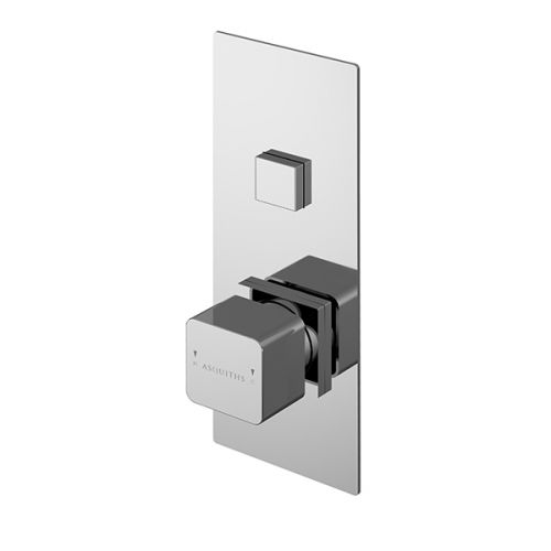 Asquiths Tranquil Push Button Shower Valve Single Outlet (17695)