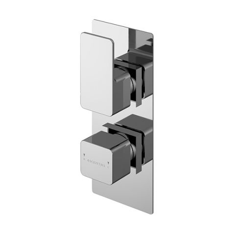 Asquiths Tranquil Twin Concealed Shower Valve With Diverter (17702)