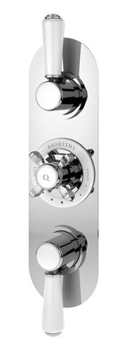 Asquiths Restore Traditional Triple Concealed Valve with Diverter (17568)