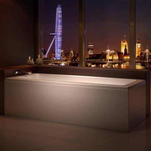 Moods Bathrooms to Love Solarna 1700 x 700mm Single Ended Bath  (8265)