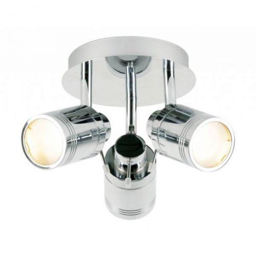 Forum Spa SPA-27405-CHR Scorpius 3 Light Ceiling Spotlight - Chrome (15725)