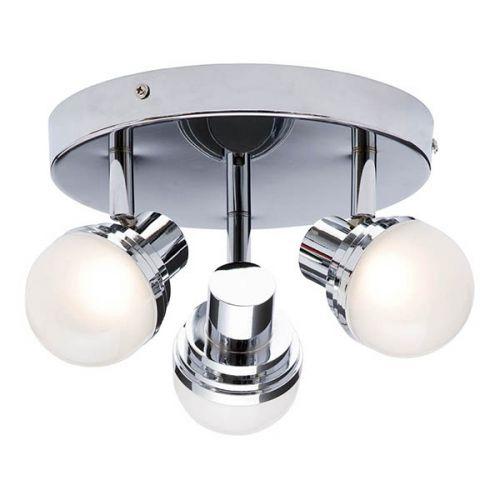 Forum Spa SPA-31733-CHR Milan Deco 3 Light Ceiling Spotlight - Chrome - 19204