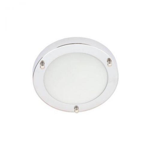 Forum Spa SPA-34046-CHR Delphi Small LED Flush Ceiling Light - Chrome