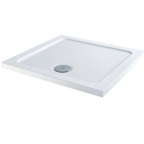Elements 1000 x 1000mm Square Slim Line Shower Tray (7905)