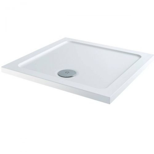 Elements 1100 x 1100mm Square Slim Line Shower Tray (7906)