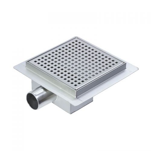 Square 150 x 150mm Wetroom Drain Gully  - 7713