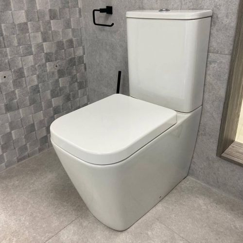 Close Coupled Fully Back to Wall Toilet