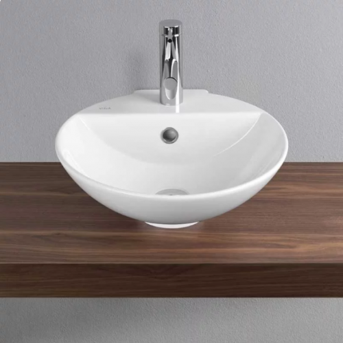 Vitra Sunrise 455mm Counter Top Basin with Tap Hole (14765)
