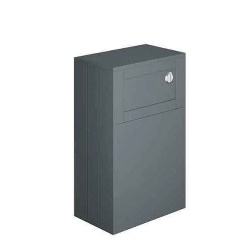 Shelbourne 500mm Back To Wall WC Unit - Matt Grey (19488)