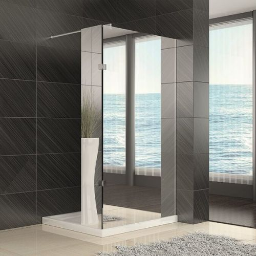 Kiimat Aqua 1200mm Wetroom Panel - Mirror Finish (18724)