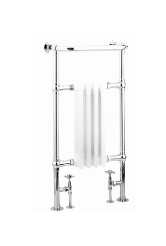 Synergy Baby Bronte 952 x 479mm Traditional Towel Radiator - 13885
