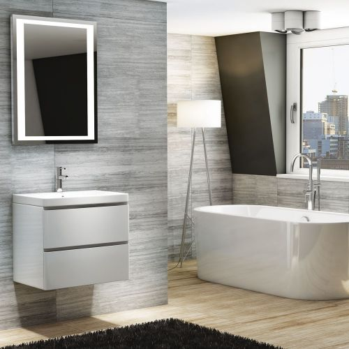 Synergy Linea 600mm Wall Hung Vanity Unit & Basin (10505)