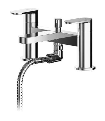 Asquiths Solitude Deck Mounted Bath Shower Mixer - 17674