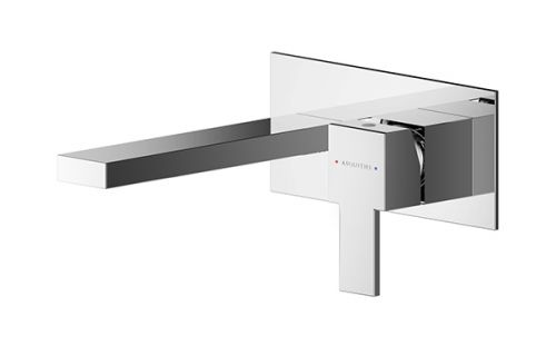 Asquiths Revival Single Wall Mounted Basin Mixer (17593)