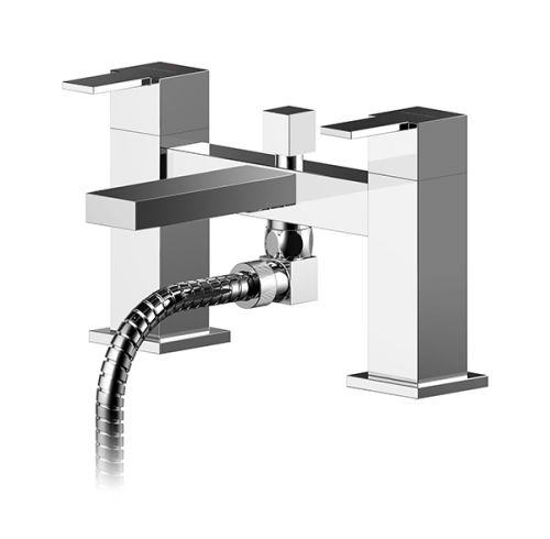 Asquiths Revival Deck Mounted Bath Shower Mixer - 17599