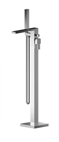 Asquiths Revival Floor Standing Bath Shower Mixer - 17604