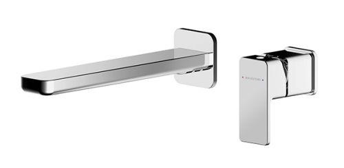 Asquiths Tranquil 2 Hole Wall Mounted Basin Mixer (17716)