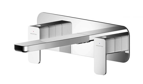 Asquiths Tranquil Dual Wall Mounted Basin Mixer (17719)