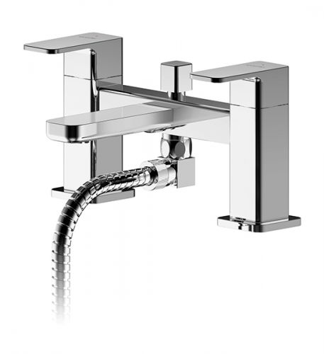Asquiths Tranquil Deck Mounted Bath Shower Mixer - 17723