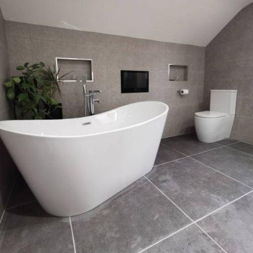 Viktor Benson Taha 1700 x 800 Freestanding Double Ended Bath  (11340)