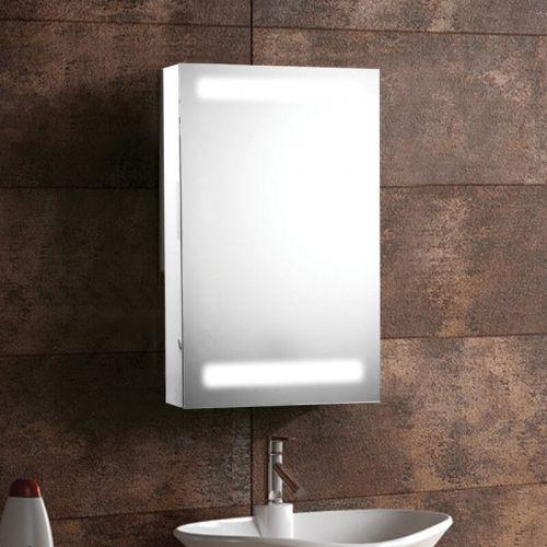 Synergy Taurus 380 x 610mm Aluminium Mirrored Cabinet (7752)