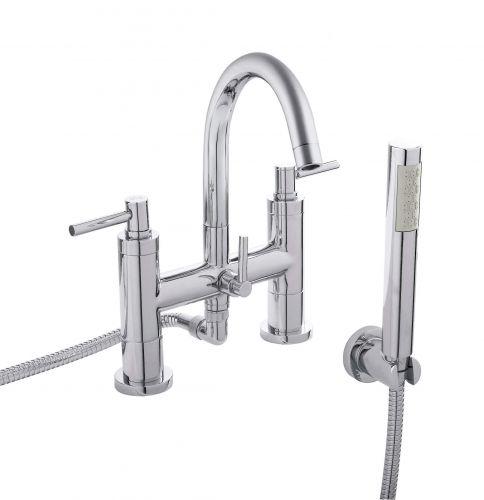 Hudson Reed Tec Lever Bath Shower Mixer (TEL354) - 15225