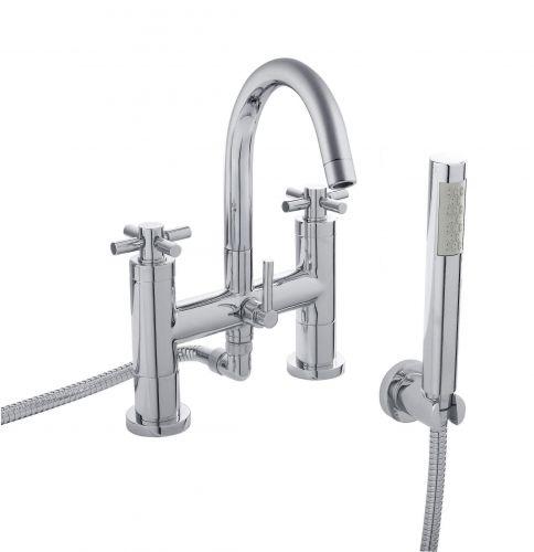 Hudson Reed Tec Crosshead Bath Shower Mixer (TEX354) - 8752
